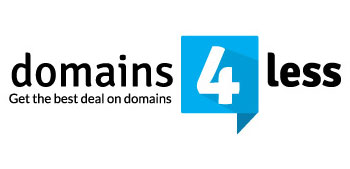 domains4less logo